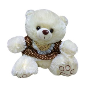 Мягкая игрушка Медведь в коричневой рубашке