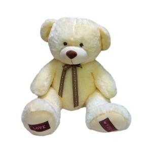Мягкая игрушка Медведь с коричневым бантом