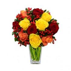 Букет цветов «Яркий день»