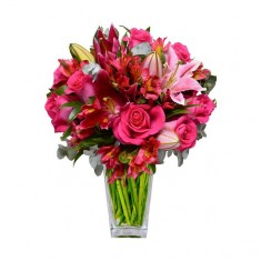 Букет цветов «Яркий взгляд»